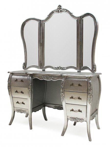 Pin On Silver Mirror Furniture
