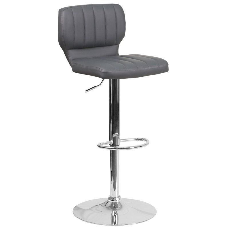 Sensational Hellwig Adjustable Height Swivel Bar Stool Kitchen Ideas Ncnpc Chair Design For Home Ncnpcorg