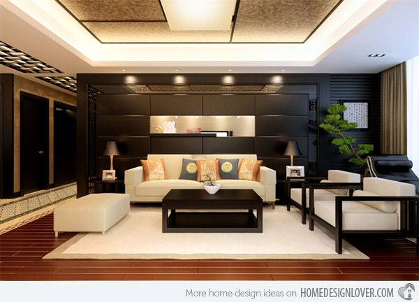 Awesome 15 Living Room Interiors For Chinese New Year Part 24