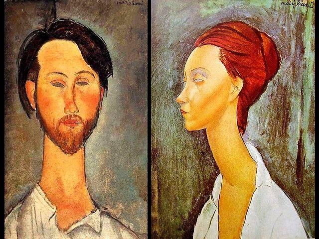 Amedeo Modigliani: Amedeo-Modigliani-Leopold-Zborowski-and-Portrait-of-Lunia