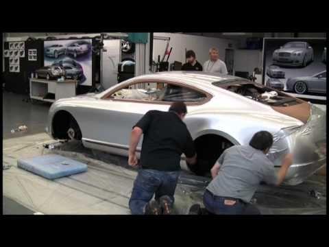 Bentley Styling Clay Model