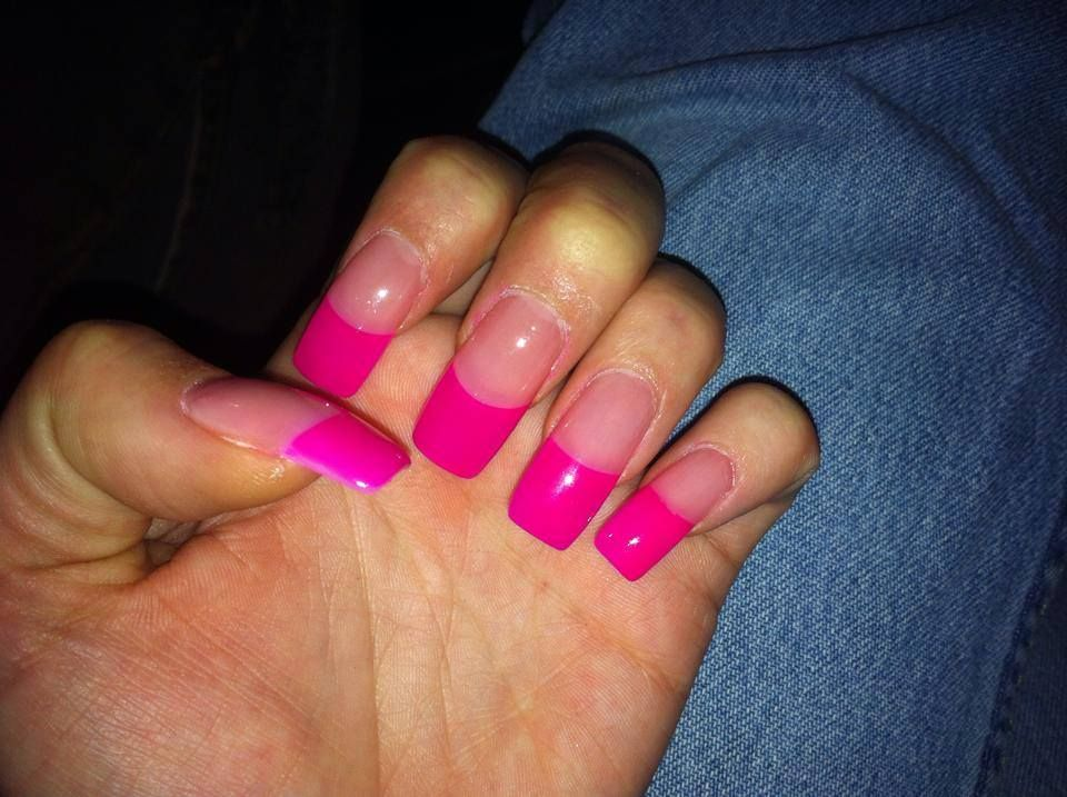 pink tips