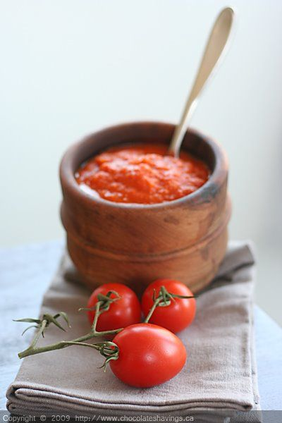 Homemade tomato sauce canned diced tomatoes