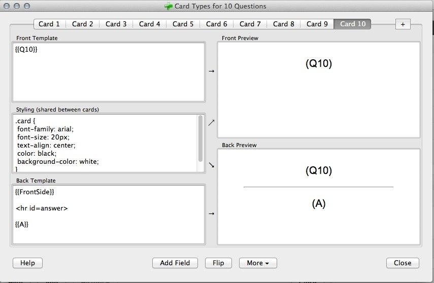 Anki Card Templates 5 Templates Example Templates Example Card Templates Templates Cards