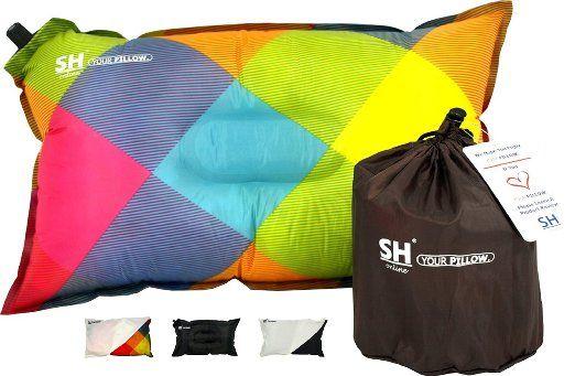 Your Pillow Par Sho Ultimate Autogonflant Voyage Camping Festival Oreiller Garantie A Vie Avec Images Oreillers De Voyage Camping Amazone