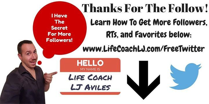 @jilangley Thanks For Following! Free gift: How To Get More Followers Now https://t.co/tYCA76Plwq #TwitterTips https://t.co/IqK1uAJ0WG (via @LifeCoachLJ on Twitter http://twitter.com/LifeCoachLJ/status/659663478504955904) - www.LifeCoachLJ.com
