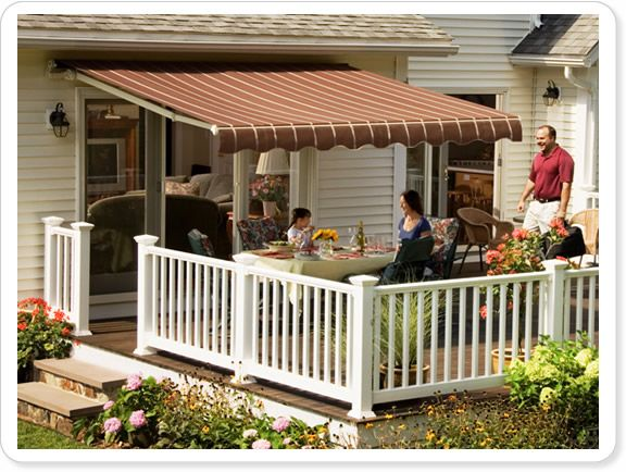 Retractable Awnings can extend your home living space with ease
