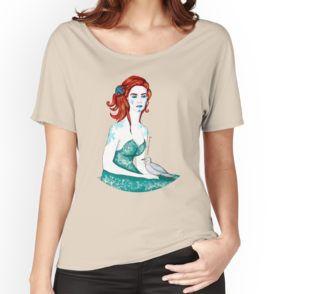'meerjungfrau' tote bag von rauschsinnig | hemd, frauen t shirts, Ärmellose tops