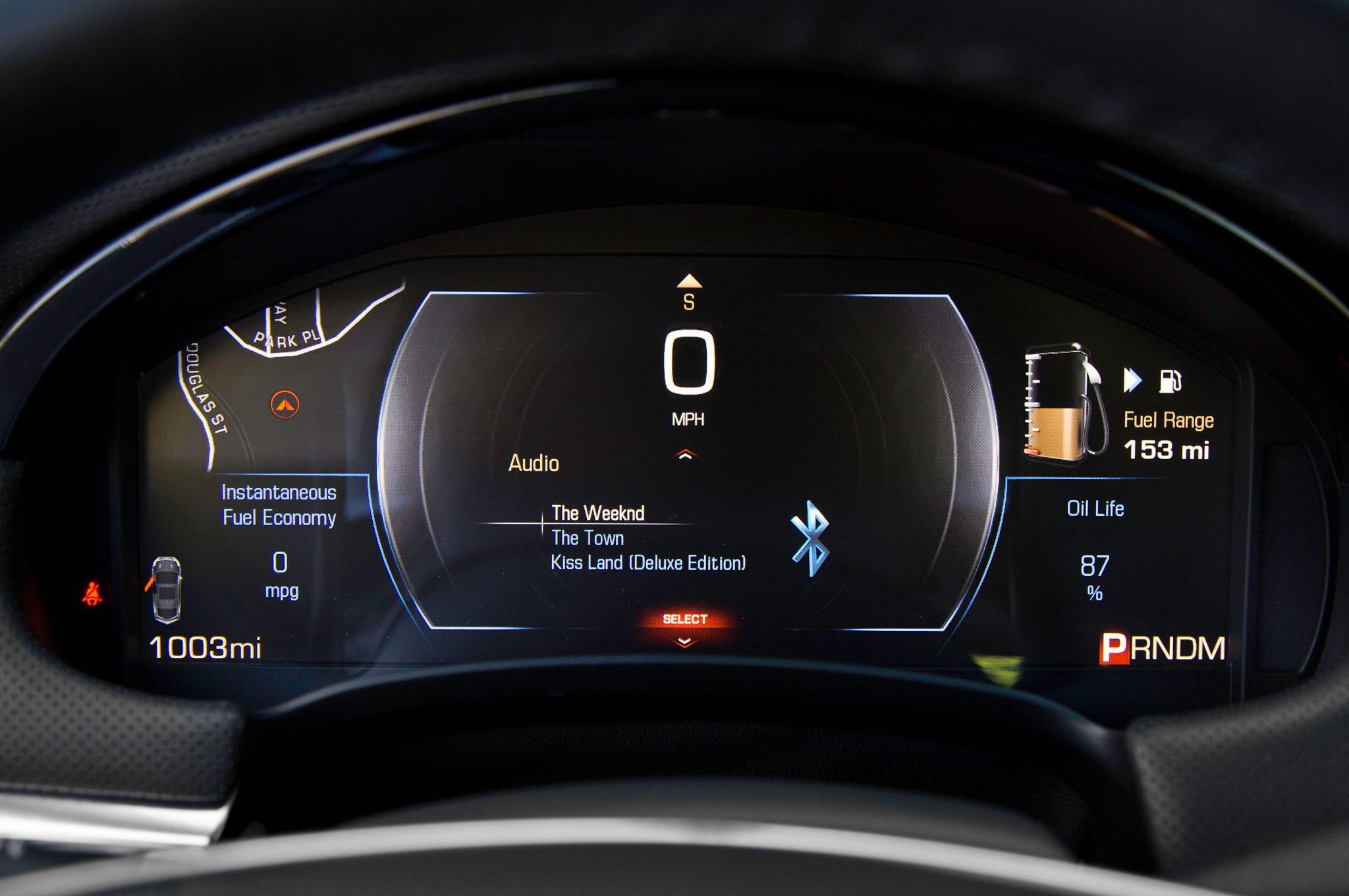 Mercedes Benz Instrument Panel