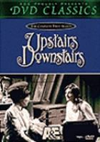 "[From the St. Charles Public Library, IL] Set in a large townhouse in Edwardian London, the series depicts the lives of the servants ""downstairs"" and their masters--the family ""upstairs."""