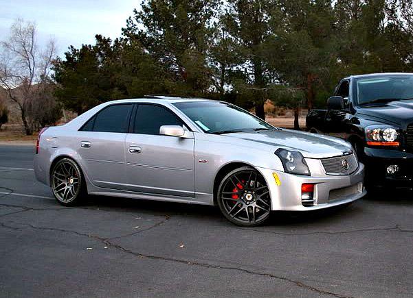 Silver Cadillac Cts With Black Rims Google Search Zhenya