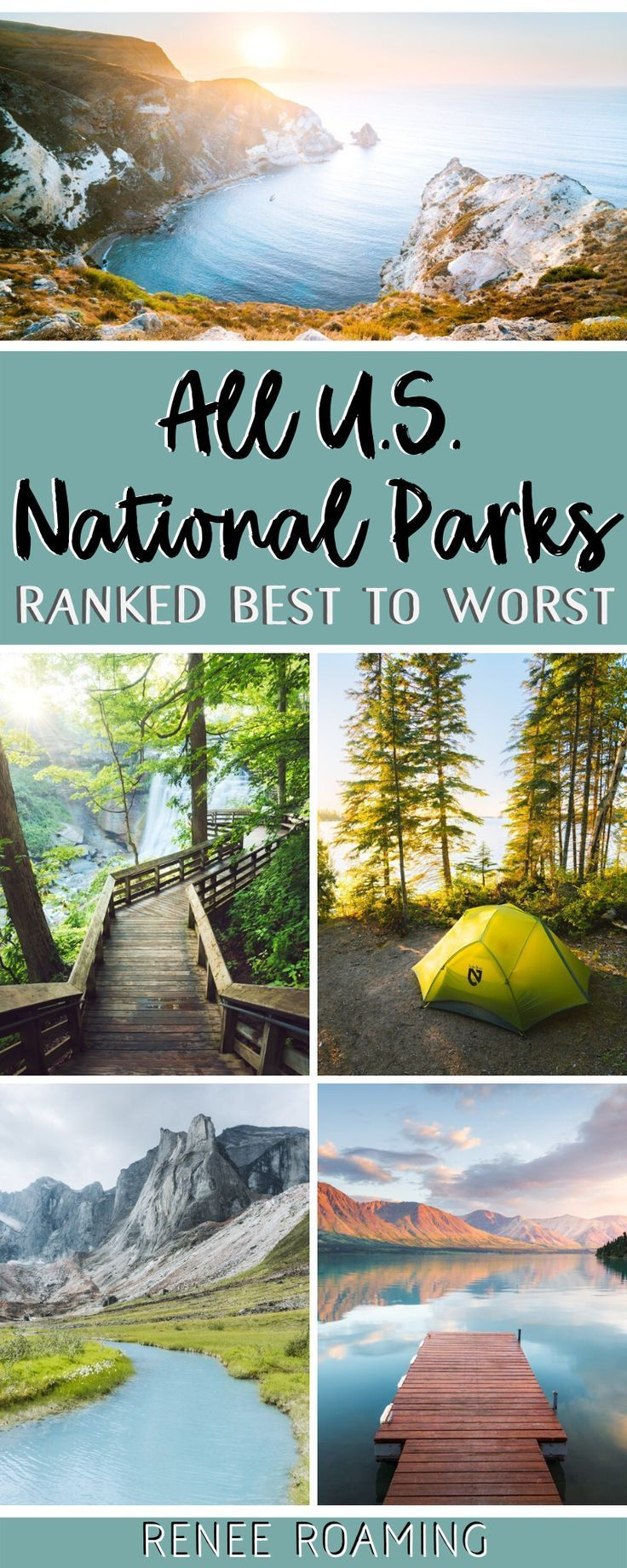 US National Parks Ranked Best To Worst - First-Hand Experience!