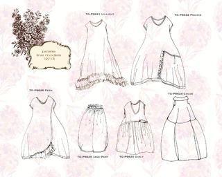 Портниха: Одежда в стиле бохо.Экскизы