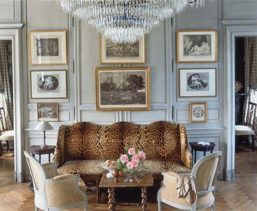 upintheatticus: sitting room (2) Manoir de Berthouville ...