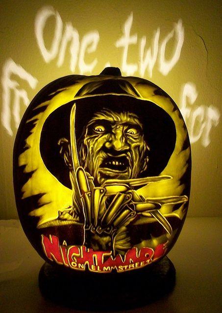 Freddie Kruger Pumpkin Carving Pinterest Freddy krueger and Horror