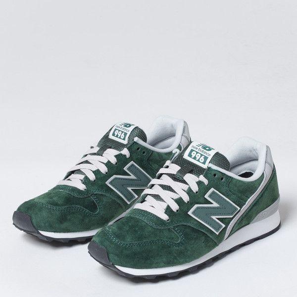 womens new balance dark green 996 trainers