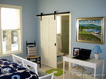 Interior Barn Doors Design Ideas, Pictures, Remodel, and Decor - page 14