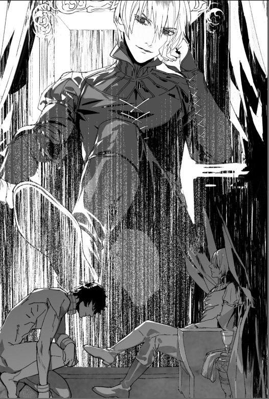Damen And Laurent Japanese Version Prince Art Movie Art Anime