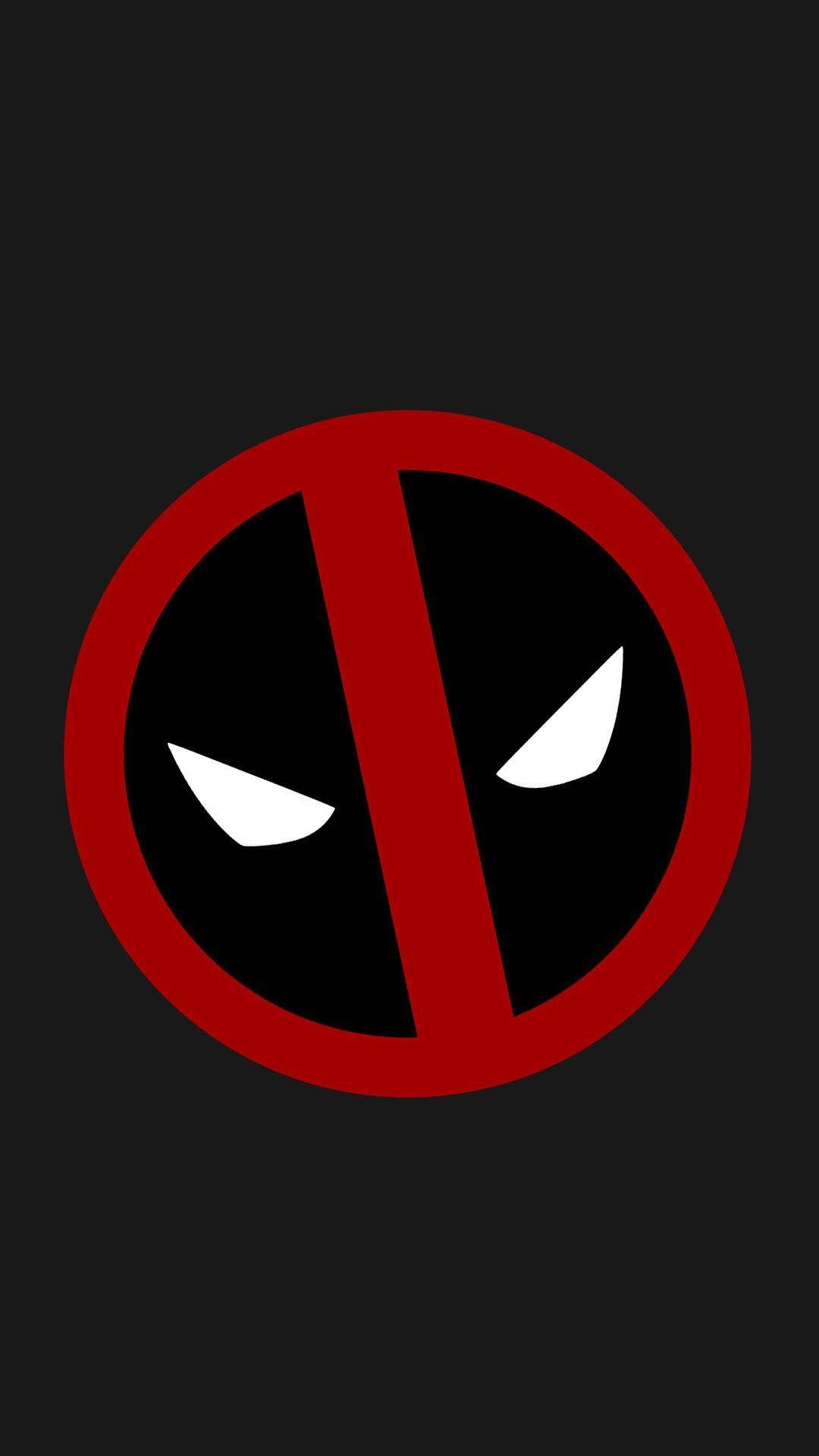 Deadpool Logo Wallpaper Android 1080x1920
