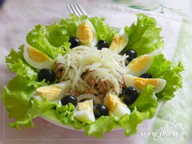салат с тунцом рецепты с фото простые
