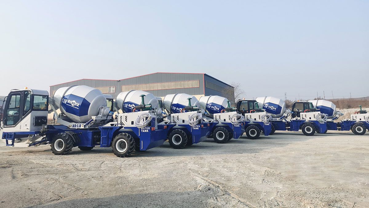 Pin on Self Loading Concrete Mixer For Sale Philippines