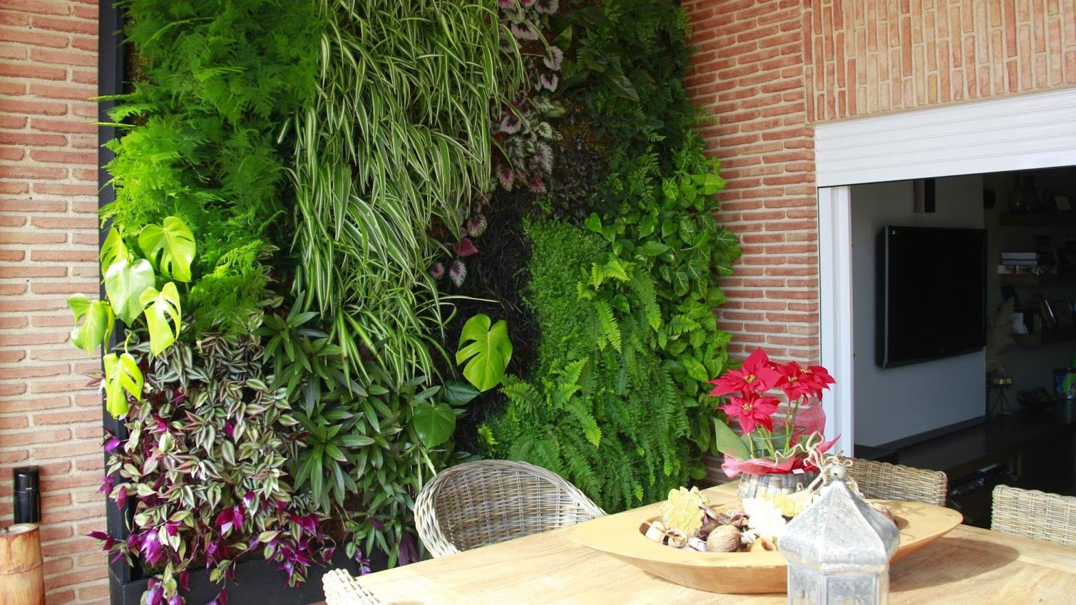 Jard n vertical interior jardines verticales interiores for Jardines interiores