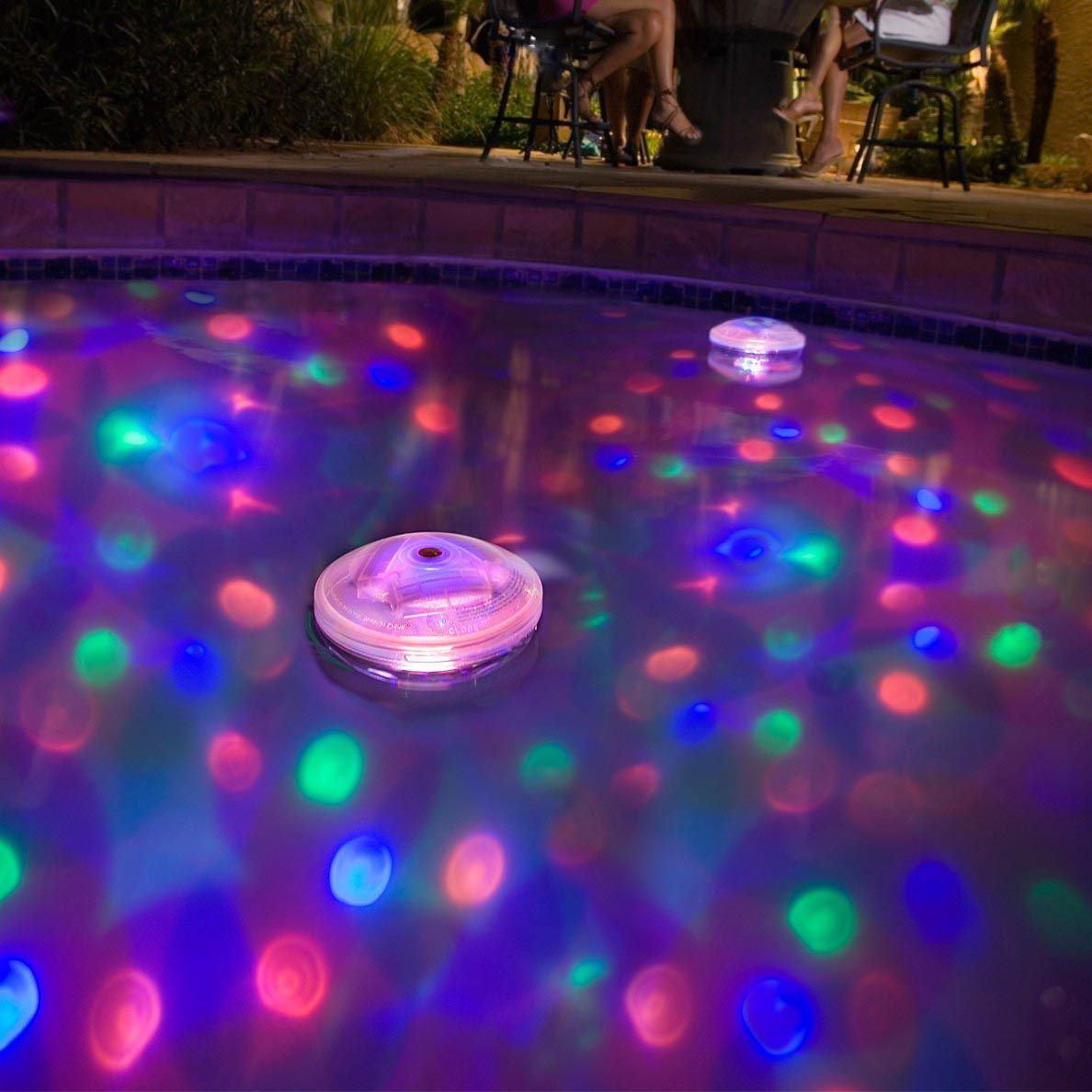 Pool Fountains And Lights Fountain Design Ideas Underwater Pool Light Floating Pool Lights Swimming Pool Hot Tub