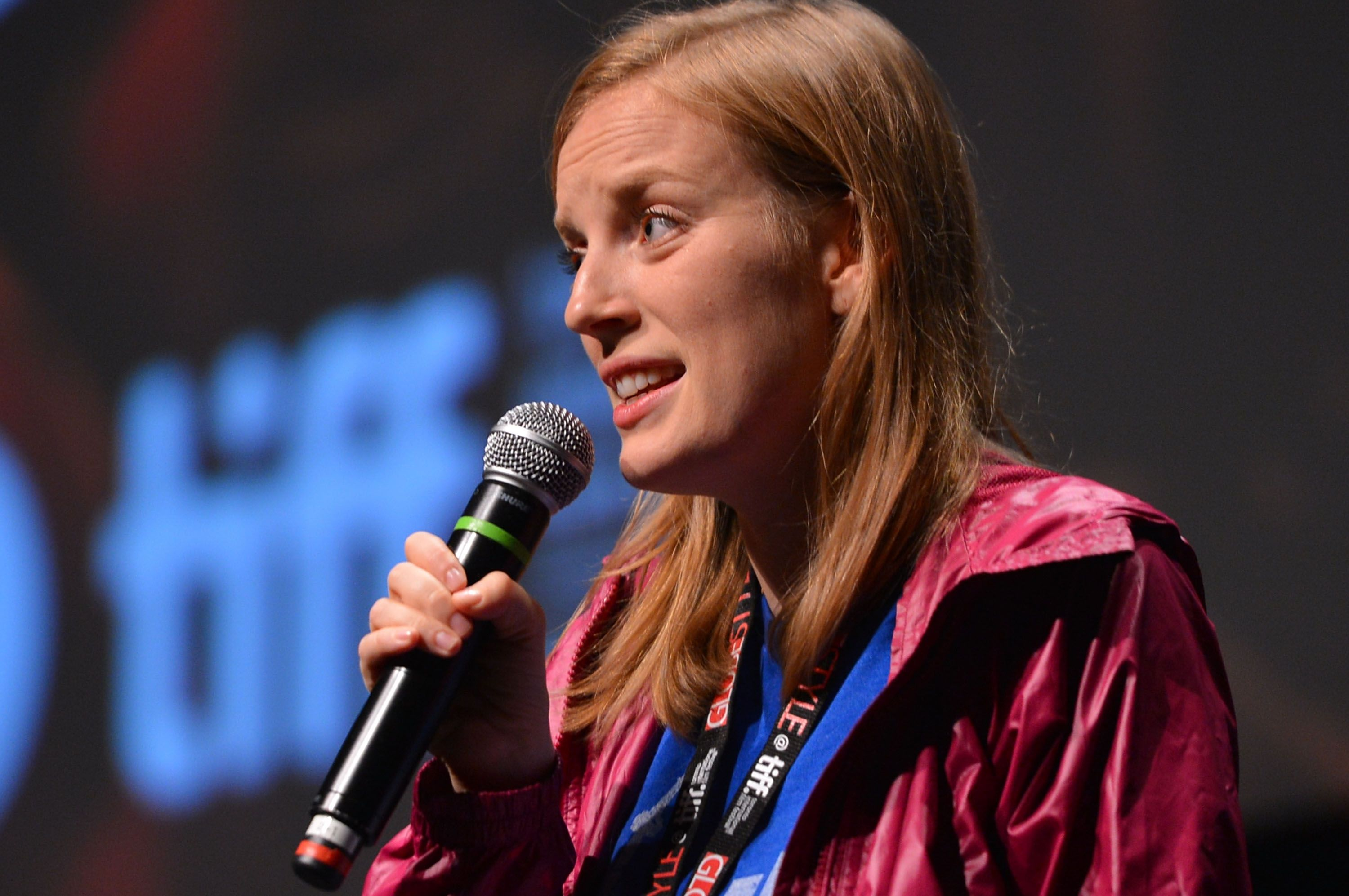 Sarah Polley at the screening of her film STORIES WE TELL