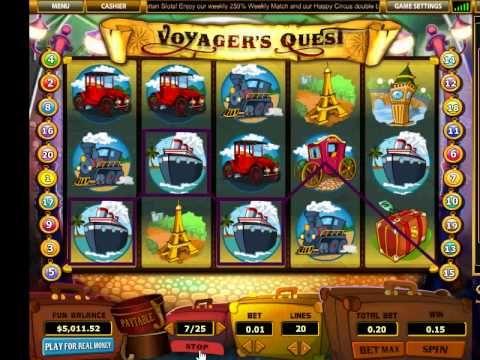 Slot voyager casino 25 free gambling laws in the uk