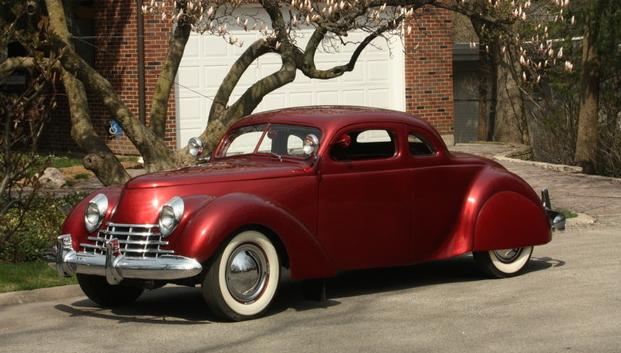 Glenn Johnson's 1937 Ford