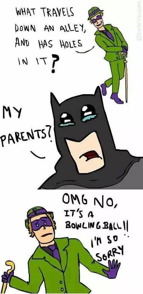 Poor Batman