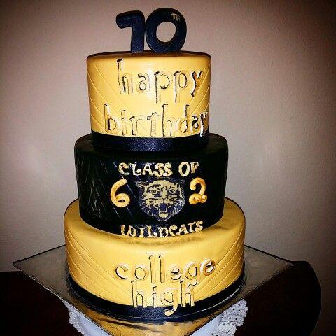 Class Reunion Cake With Images Class Reunion Graduation Cakes