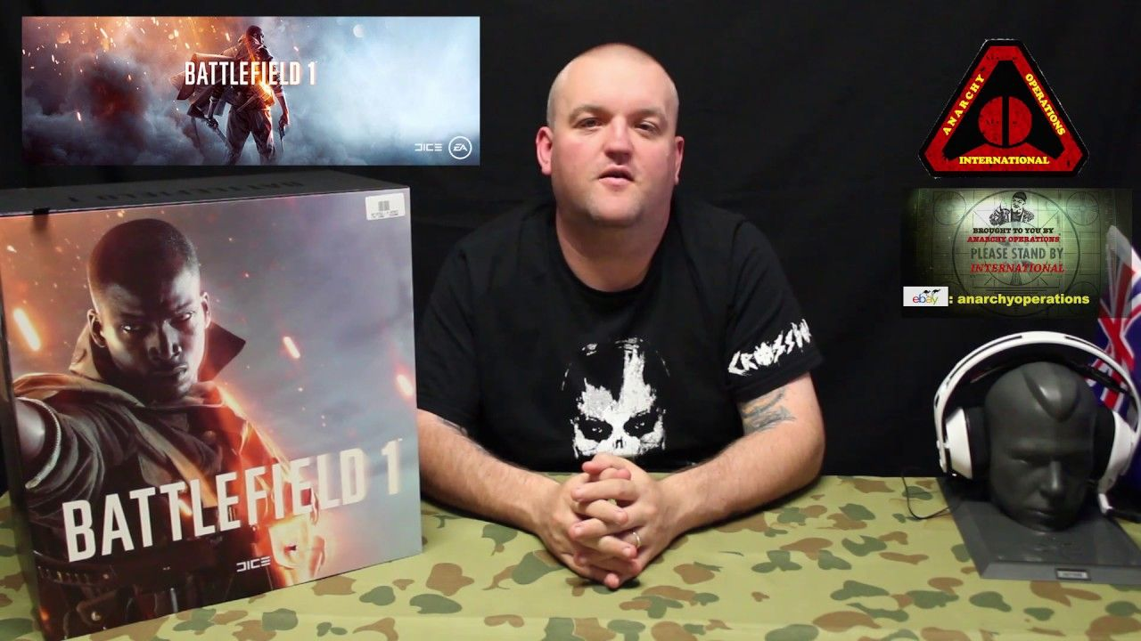 Unboxing Ps4 Battlefield 1 2016 Collectors Edition