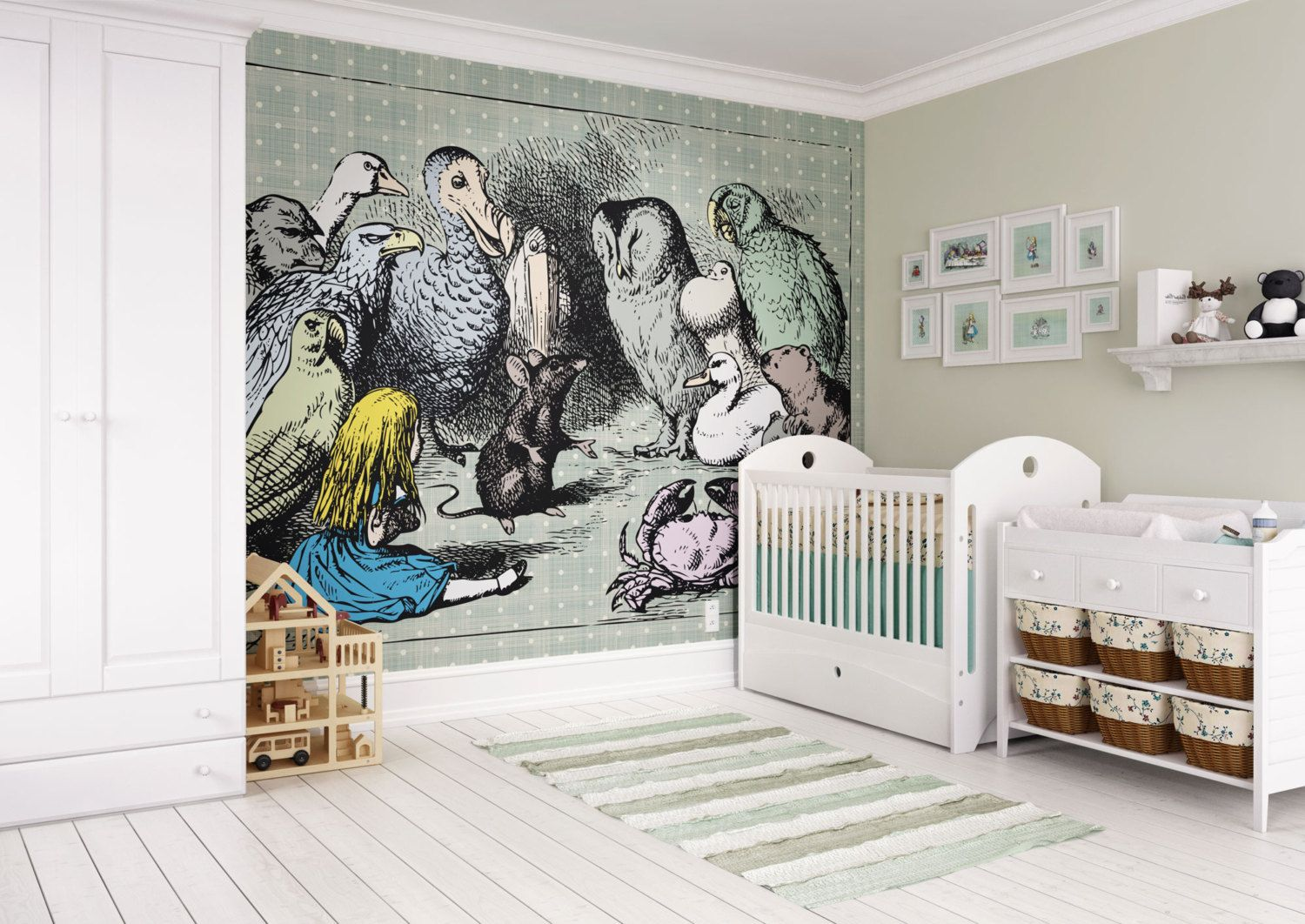 Best Photo Wallpaper Wall Mural Children S Bedroom Girls Room 400 x 300