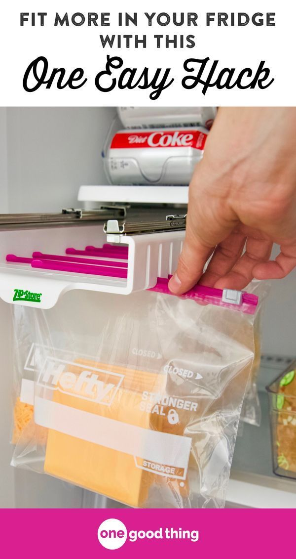 Fit More In Your Fridge With This One Easy Hack · Jillee is part of Organization Bedroom Hacks - Check out this brilliant fridge organization hack that will help you fit more food in your fridge AND keep it more organized than ever!