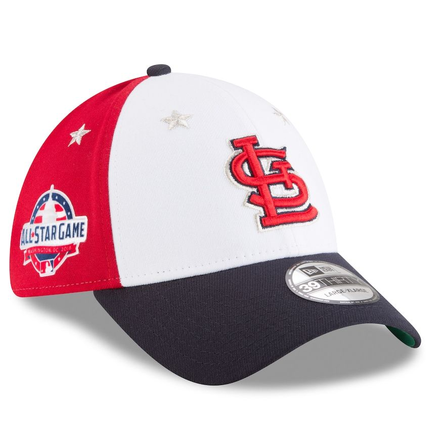 san francisco 01abd e2ad3 Men s New Era St. Louis Cardinals 39THIRTY All Star Game Cap, Size   Medium Large, Red