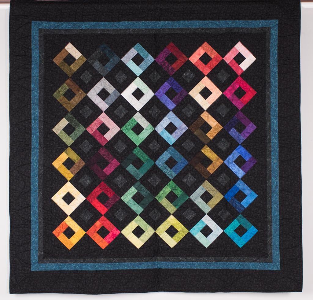 Rjr Jinny Beyer Palette Harlequin Quilt