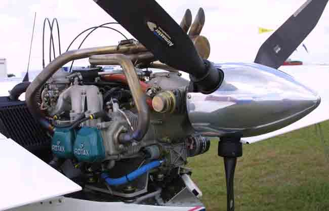 Rotax 912 aircraft engine storage, how to properly store
