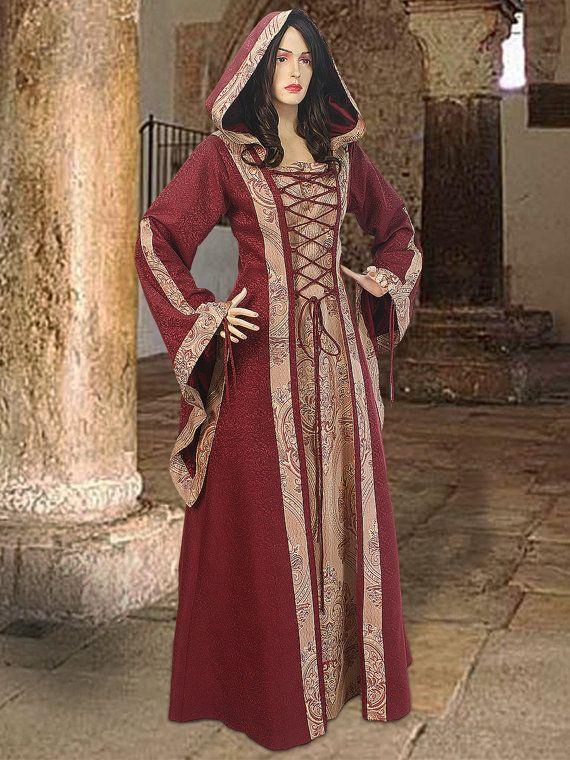 medieval dress maid marian costume tavern maid renaissance