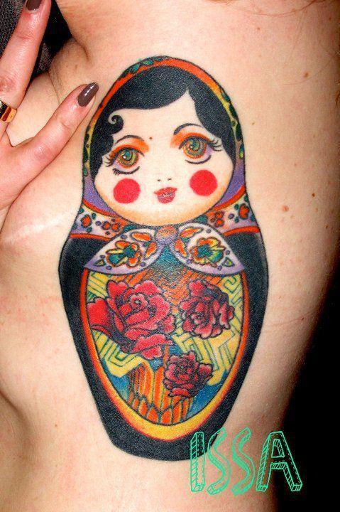 poup e russe tatoo pinterest tatoo skin art and tatting. Black Bedroom Furniture Sets. Home Design Ideas