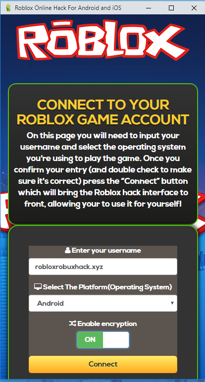 Free Robux Generator Working 2018