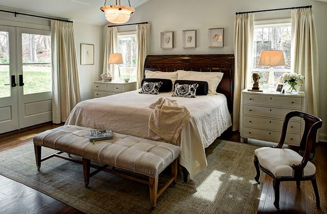 Dark Wood Bedroom Furniture Shabby Chic Bedrooms Decor