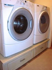 Diy Washer Dryer Pedestal A Laundry Life Saver Amenagement Salle De Bain Astuce Rangement Salle De Bain