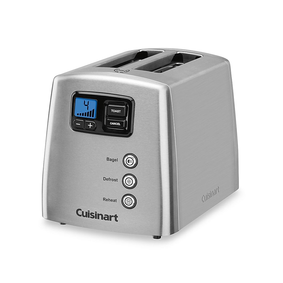 Cuisinart Touch To Toast Leverless 2 Slice Toaster Toaster Cuisinart Stainless Steel Toaster