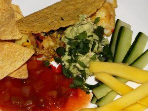 Delicous & healthy fish tacos