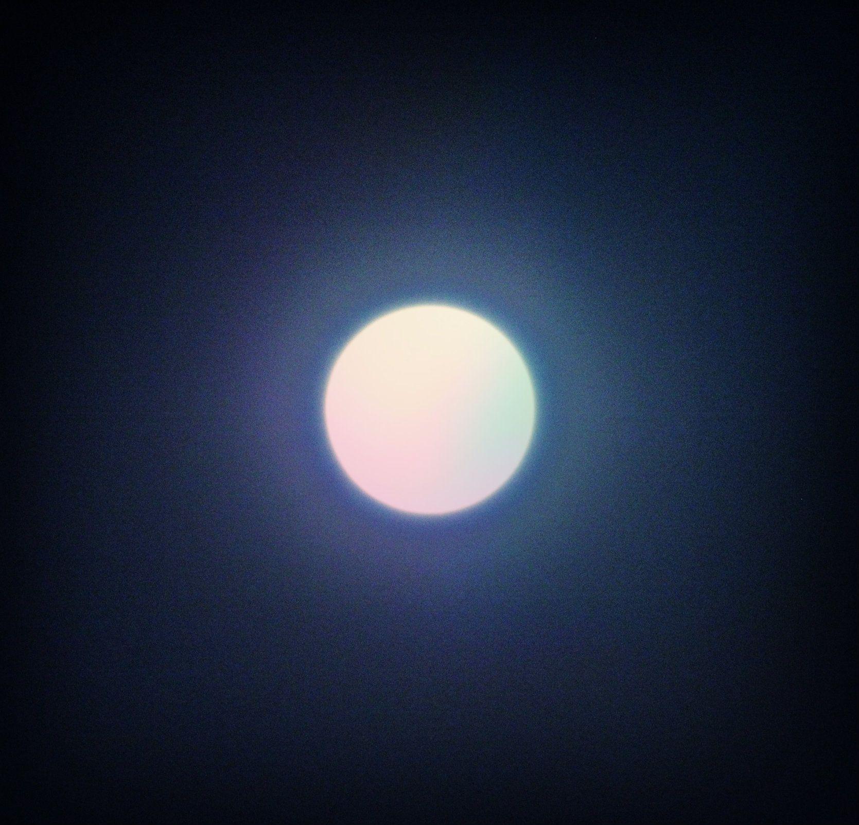 La luna asombra mi vida como si fuera una ilusión... La ultima luna del 2013