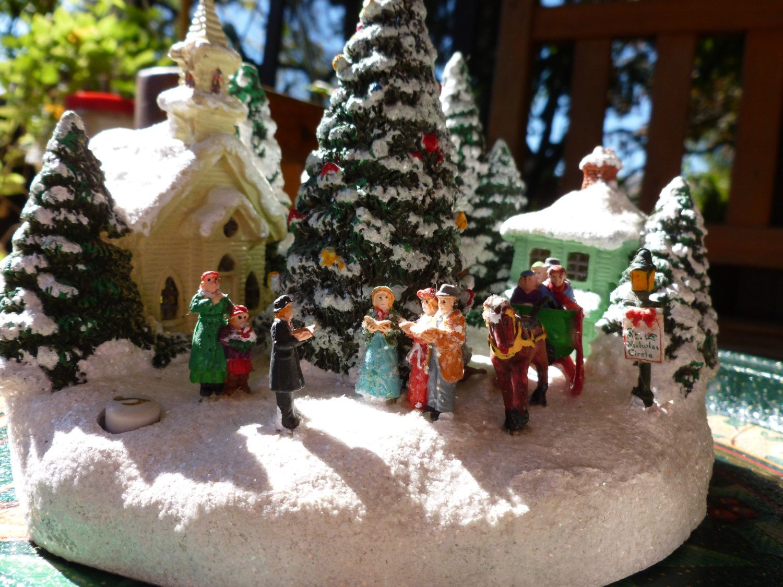 "Musical Thomas Kinkade Christmas,"" St. Nicholas church"