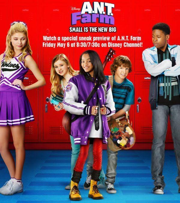 Ant Farm Programas De Disney Channel Series De Disney Chanel