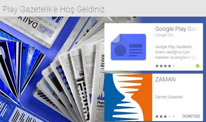 Google Play Gazetelik abonelikleri artık Türkiye'de #googleplay #google #news