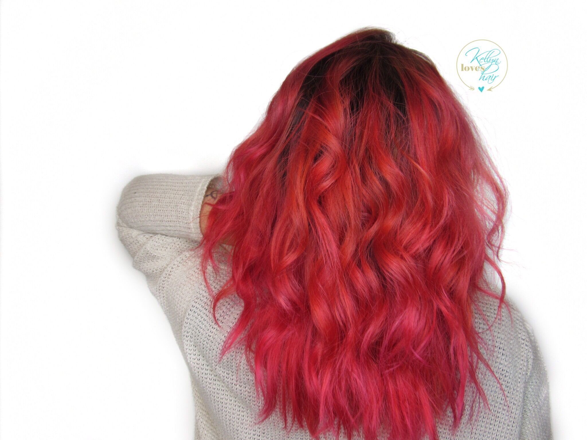 Blonde Hair With Vivid Color Mix Of Pink Orange And Red By Kellyn At Bow Arrow North End Boston At Www Bowand Vivid Hair Color Long Hair Styles Hair Art